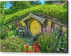 Flowers In The Shire Acrylic Print
