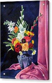 Flowers Pac Acrylic Print by Rabindra Meher