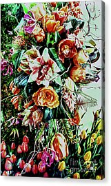 Flowing Bouquet Acrylic Print