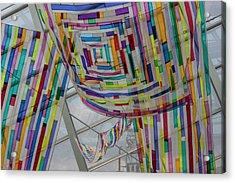 Flowing Color II Acrylic Print