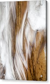 Flowing Free Acrylic Print by Az Jackson