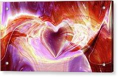 Flowing Free Acrylic Print
