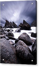 Acrylic Print featuring the photograph Flowing by Jorge Maia