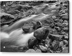 Acrylic Print featuring the photograph Flowing Rocks by James BO Insogna