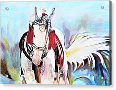 Flowing Tail Acrylic Print