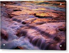 Flowing Tide Acrylic Print