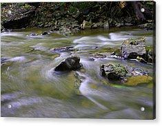 Flowing Water 2 Acrylic Print by Mark Platt