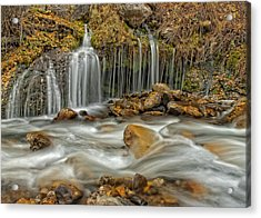 Flowing Water Acrylic Print
