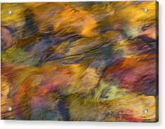Acrylic Print featuring the photograph Flowing Waters Luminescence by Leland D Howard