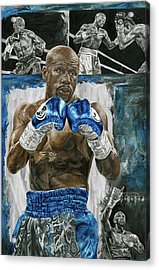Floyd At His Finest Acrylic Print by David Courson