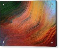 Fluid Lucidity Abstract Acrylic Print