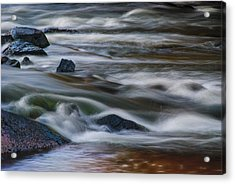 Acrylic Print featuring the photograph Fluid Motion by Steven Richardson