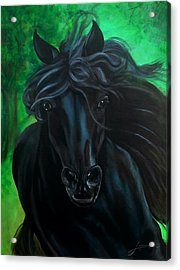 Acrylic Print featuring the painting Fluing High by Thomas Lupari