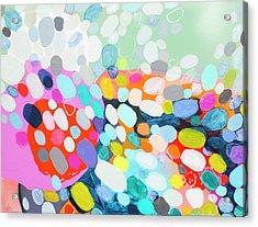 Flushed Acrylic Print