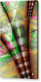 Flutes Of Osiris Acrylic Print by Dan Turner