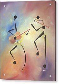 Flutina Acrylic Print by Ikahl Beckford