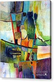 Fluvial  Mosaic Acrylic Print