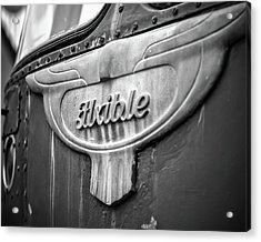 Flxible Clipper 1948 Bw Acrylic Print