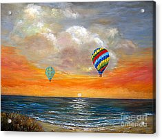 Fly Away 22 Acrylic Print by Jeannette Ulrich