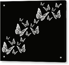 Fly Away Acrylic Print by Lourry Legarde