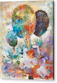Fly Away To Creativity Acrylic Print