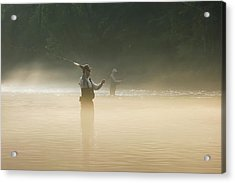 Fly Fishing  Acrylic Print
