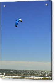 Fly In The Sky. Acrylic Print by Robin Hernandez
