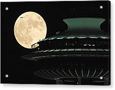 Fly Me To The Moon A331 Acrylic Print by Yoshiki Nakamura