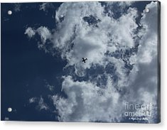 Acrylic Print featuring the photograph Fly Me To The Moon by Megan Dirsa-DuBois