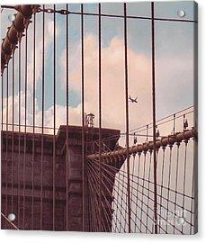 Fly Over Brooklyn  Acrylic Print