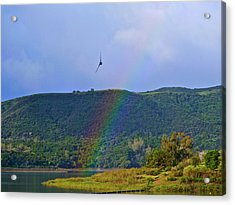 Fly Over The Rainbow Acrylic Print