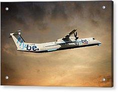 Flybe Bombardier Dash 8 Q400 Acrylic Print
