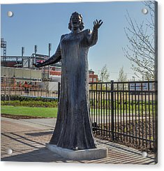 Flyer Good Luck Charm - Kate Smith Acrylic Print by Bill Cannon