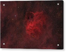 Flyihng Owl Nebula Acrylic Print by Brian Peterson