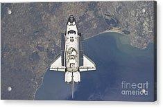 Flying Above The Atlantic Coast Acrylic Print