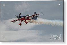 Flying Acrobatic Plane Acrylic Print