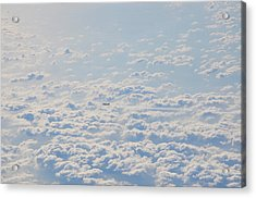 Acrylic Print featuring the photograph Flying Among The Clouds by Bill Cannon