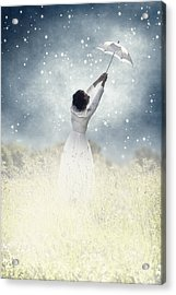 Flying Away Acrylic Print by Joana Kruse