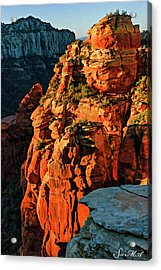 Flying Buttress 06-034 Acrylic Print