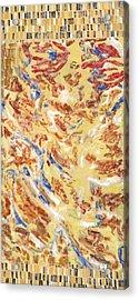 Flying Carpet Acrylic Print by Joan De Bot