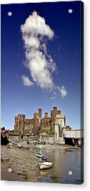 Flying Dragon Conwy Castle Acrylic Print