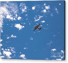 Flying Fortress Flying Acrylic Print