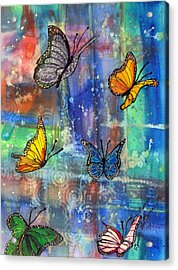 Flying Free Acrylic Print by Cynda LuClaire