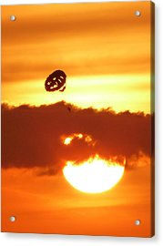 Flying Into The Sunset Acrylic Print