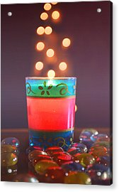 Acrylic Print featuring the photograph Flying Light by Rima Biswas