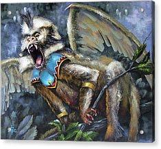 Flying Monkey Acrylic Print