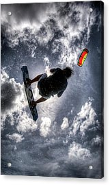 Flying  Acrylic Print by Nick  Shirghio