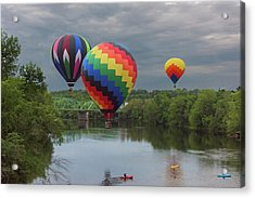 Flying Over The Androscoggin Acrylic Print