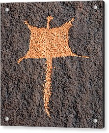 Flying Squirrel Rock Art  Acrylic Print
