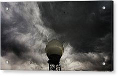 Flying The Friendly Skies Acrylic Print by Brian Gustafson